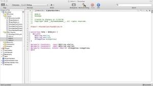 XCode Code Generation